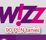 Wizz Air z Lublina taniej o 90 PLN. Tylko dziś z Wizz Discount Club