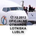 Oficjalne otwarcie Lotniska Lublin w Świdniku