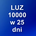 LUZ 10000 w 25 dni