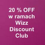 oferta dla uczestników Wizz Discount Club
