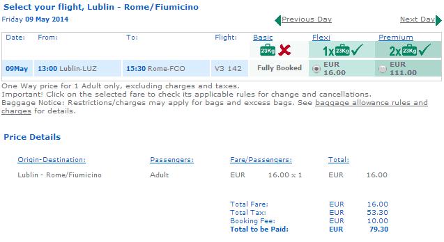 Tanie bilety Lublin Rzym