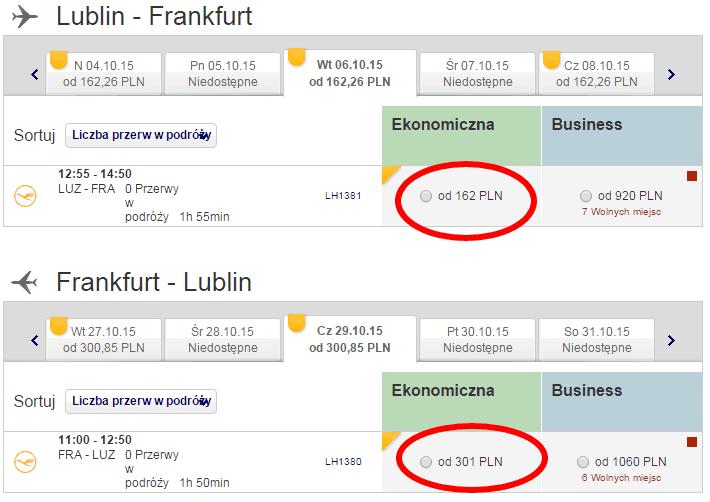 Lublin Frankfurt Lublin