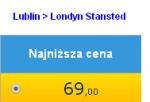 Londyn ze Świdnika za 69 PLN