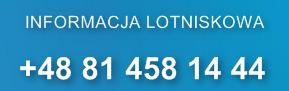 Lotnisko Lublin informacja telefoniczna
