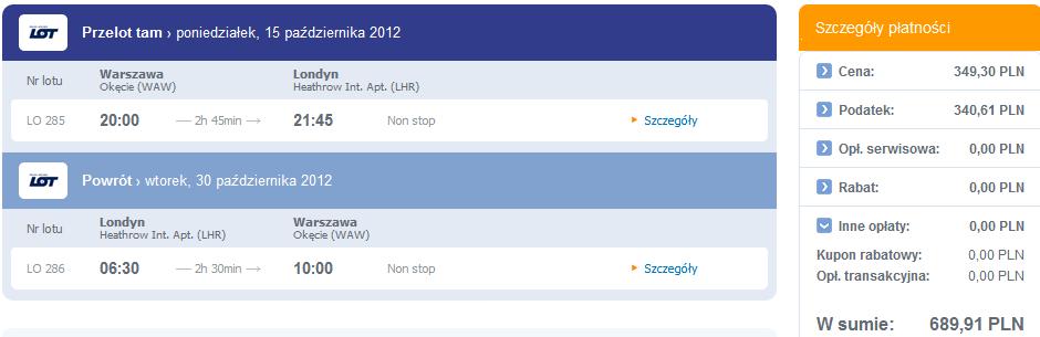 bilety tripsta.pl bez opłaty serwisowej