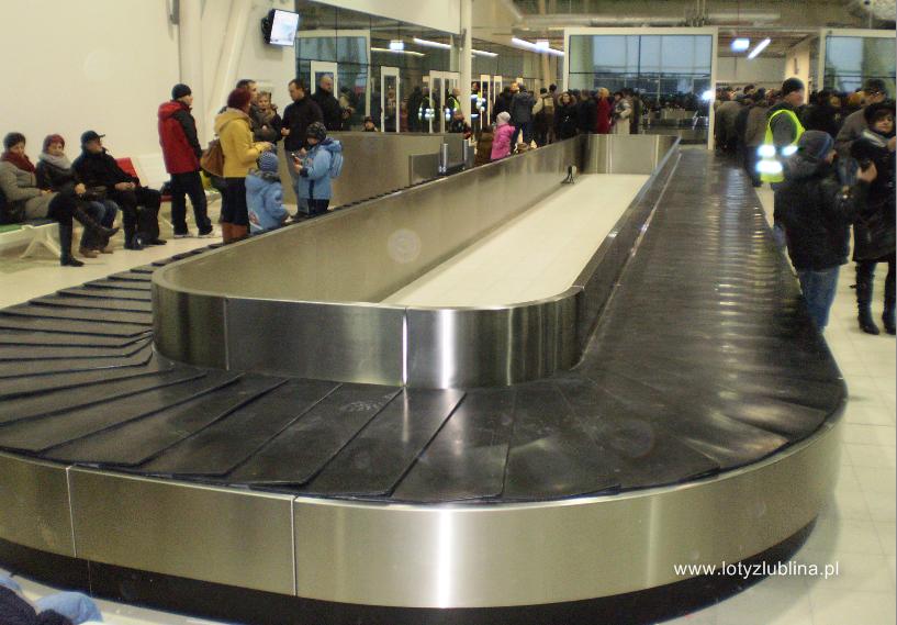 Airport Lublin przyloty