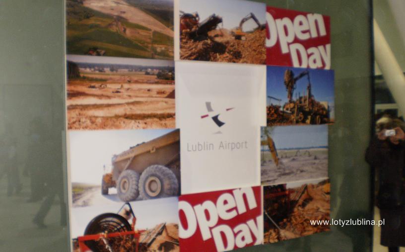 Lotnisko Lublin plakat open day