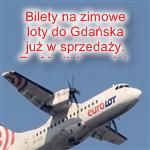 Gdansk w zimowej siatce polaczen