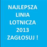 najlepsza linia lotnicza 2013