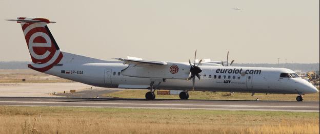 Bombardier Q400 Lublin Mediolan