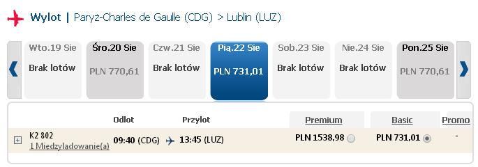 Paryż Wrocław Lublin