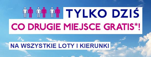 Wizz Air co drugi bilet gratis