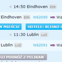 Lublin Eindhoven Lublin lot za 82 zł